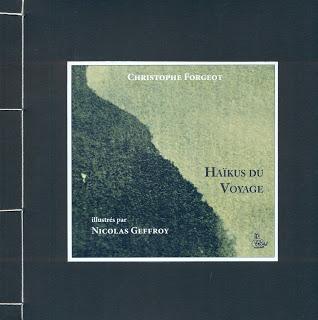 Première de couverture des Haïkus du Voyage de Christophe Forgeot