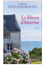 Le Silence d'Amarine couv'