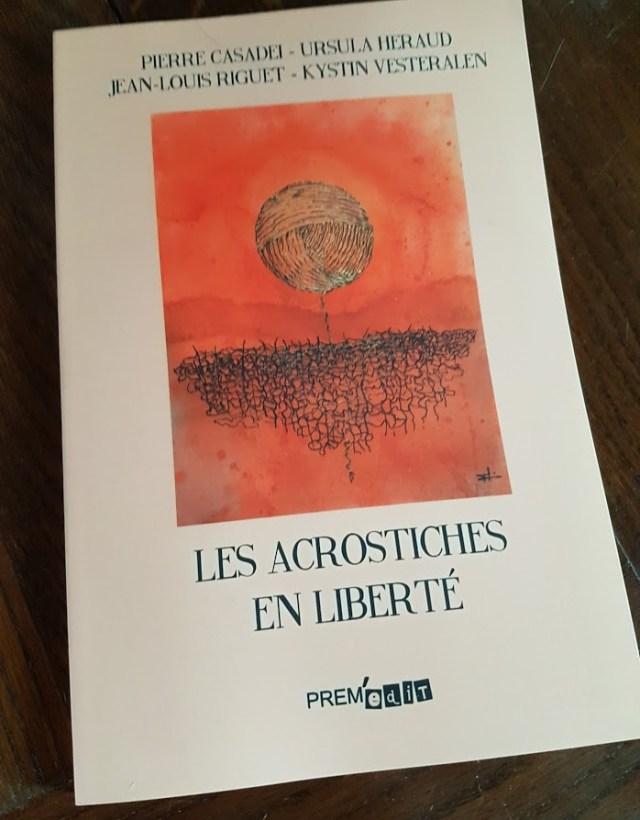 Les acrostiches en liberté, un recueil collectif de poésie