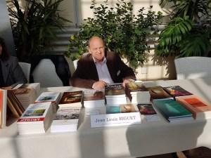 Jean-Louis Riguet auteur de livres à base historique et poésie