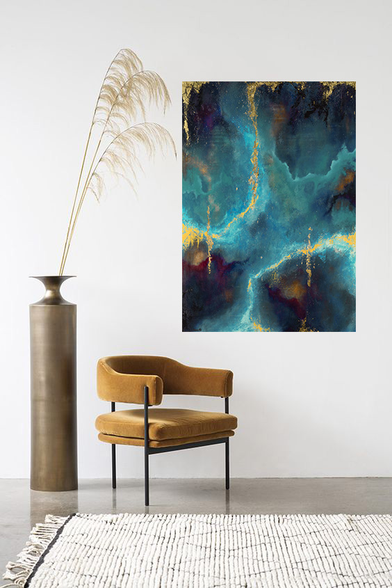 Toile de Laetitia Guillon artiste peintre