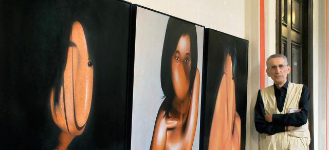 Toiles de Daniel Moline artiste peintre écrivain