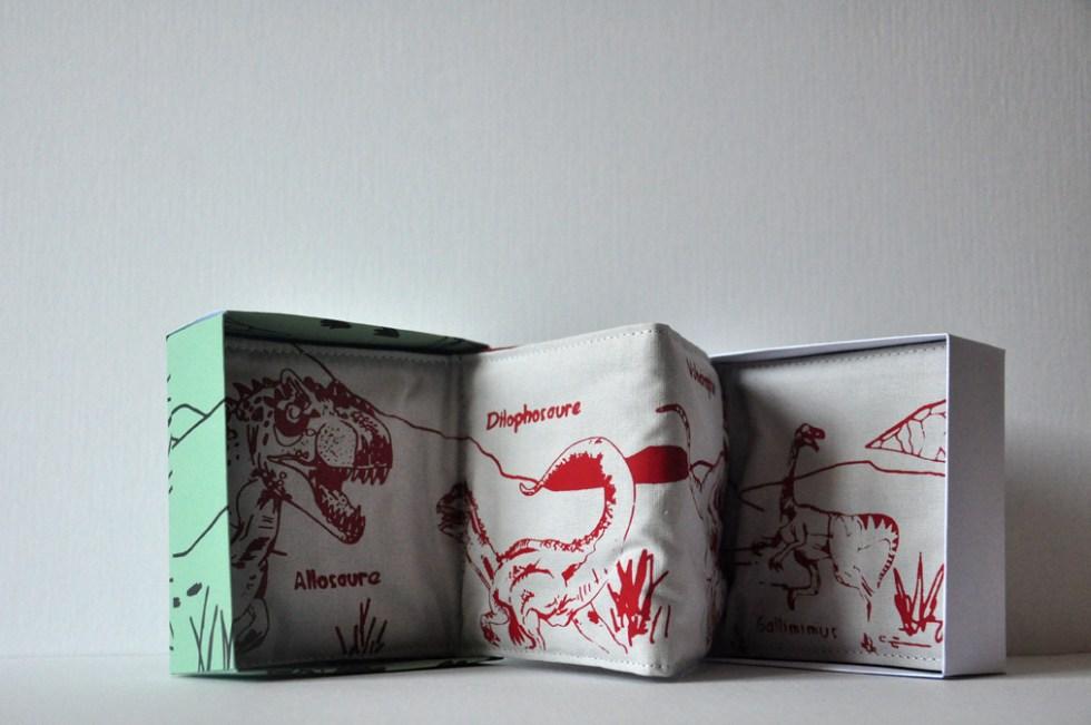Livre textile création de Allez-zou éditions