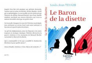 Couverture de Le Baron de la disette un roman de Louis-Jean Teugir