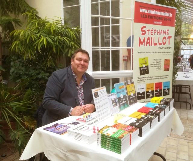 Stéphane Maillot au salon du livre d'Orléans 2019