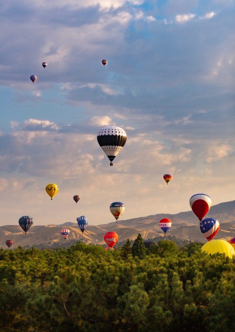 Photo de Benjamin Cremer, montgolfières vol en solidarité