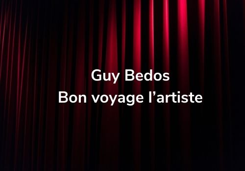 Guy Bedos, bon voyage l'artiste
