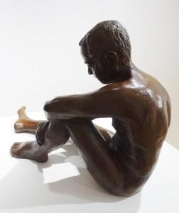 Mélancolie - Bronze de Anne Boisaubert