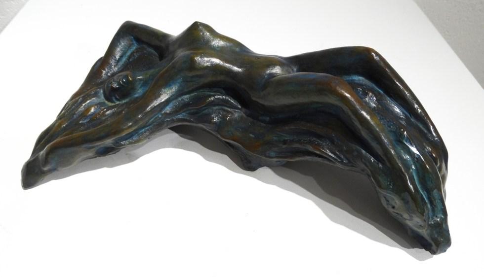 Abandon - Bronze de Anne Boisaubert