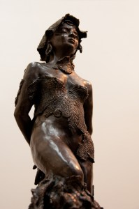 La Captive, bronze d'Anne Boisaubert