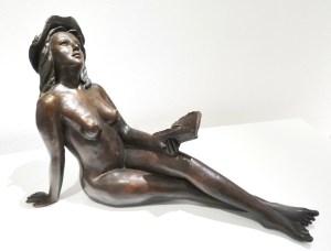Terra Incognita, bronze de Anne Boisaubert