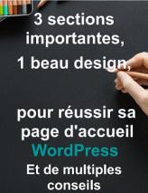 bonus : 3 sections importantes 1 beau design