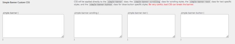 Modifier le CSS