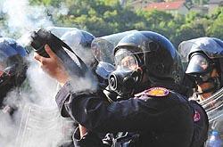 Chiomonte, lacrimogeni contro i valsusini