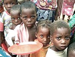 fame nel terzo mondo