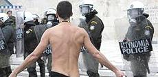 La rivolta popolare ad Atene