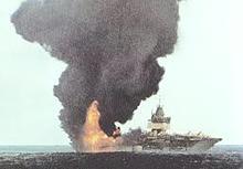 L'incidente alla portaerei Forrestal