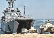 Unità russe sbarcate in Siria