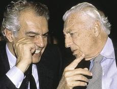 Gardini con Gianni Agnelli