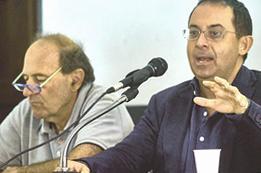 Nino Galloni e Gioele Magaldi, esponenti del Movimento Roosevelt
