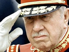Il dittatore cileno Augusto Pinochet