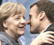 Merkel e Macron