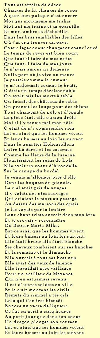 Est Ce Ainsi Que Les Hommes Vivent Aragon : ainsi, hommes, vivent, aragon, Est-ce, Ainsi, Hommes, Vivent., Libres, Jugements