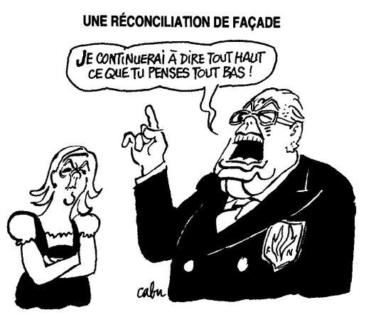 Le Pen Cabu Canard enchainé