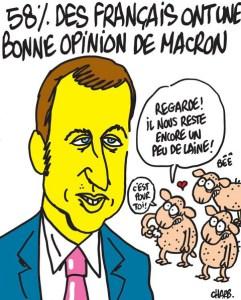 Macron tondre les moutons