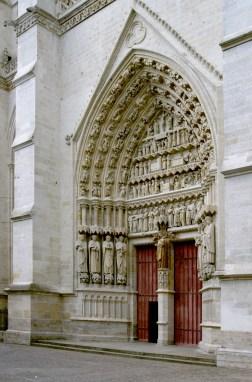 Cathédrale Amiens - Entrée Latérale