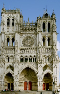 Cathédrale Amiens - Façade