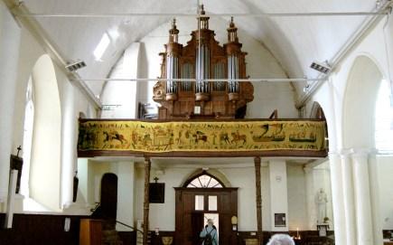 Saint Valéry en Somme - Église Saint Martin - Intérieur -Tapissière
