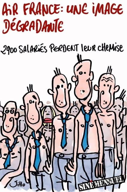 Air France -Siné