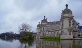 Château Chantilly Vue arrière