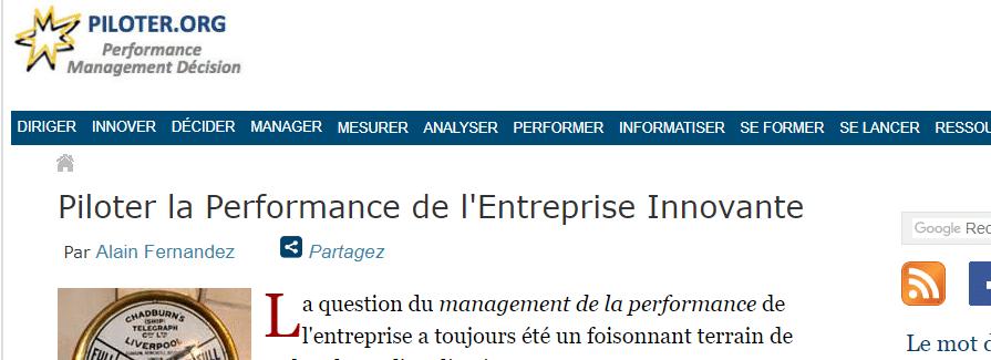 Les techniques de gestion d'entreprises