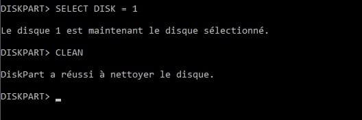 Rendre une clé USB bootable avec MS-DOS