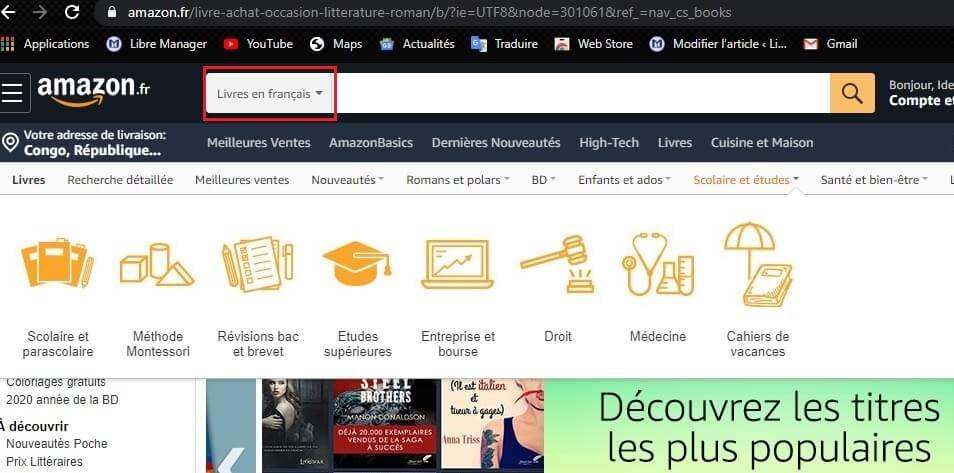 Téléchargement gratuit des livres avec Amazon