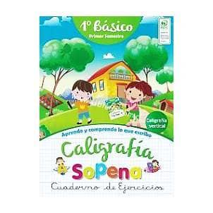 CALIGRAFIA SOPENA 1º BASICO 1º SEMESTRE - LIBRERIA ELIM