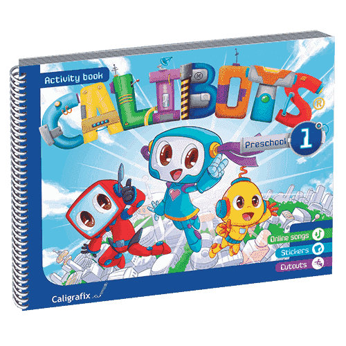 calibots 1 preschool caligrafix - libreria elim