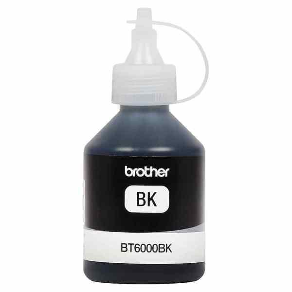 BOTELLA TINTA BROTHER 6001 BK NEGRO 108 ml