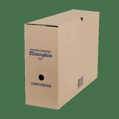 caja archivo computacion memphis - libreria elim
