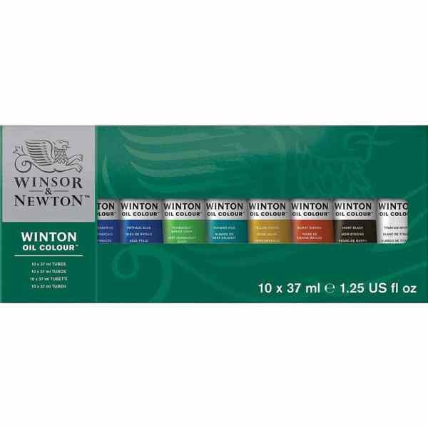 SET OLEOS WINTON 10 TUBOS X 37ML – WINSOR & NEWTON