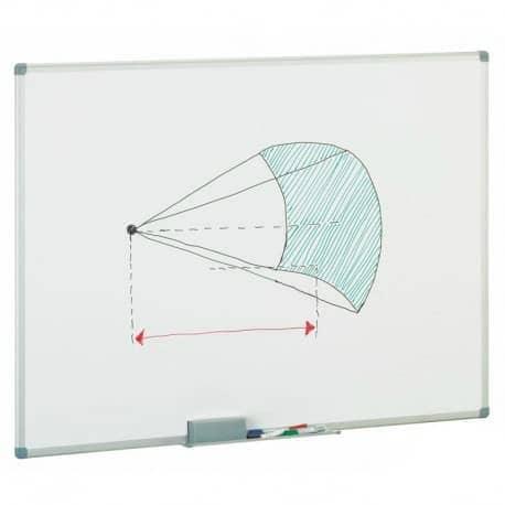 pizarra acrilica 120x150 cm blanca magnetica - libreria elim