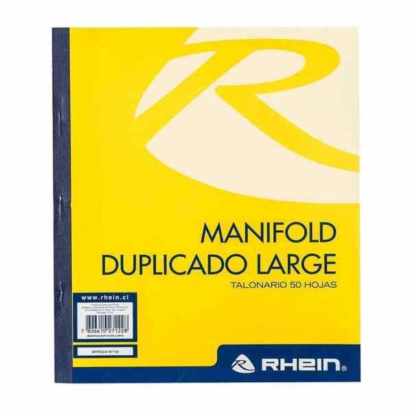 Manifold duplicado rhein 327122