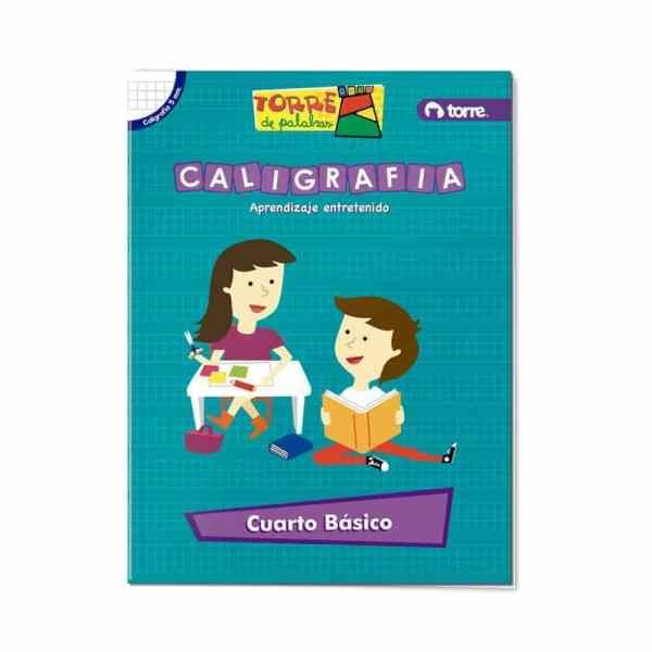 CALIGRAFIA TORRE PALABRAS 4 BASICO 5MM. APRENDIZAJE ENTRETENIDO 29319