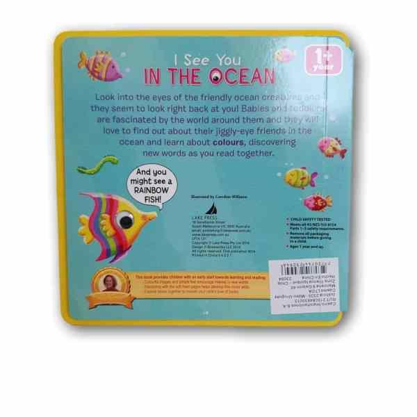 Libro Tapa Dura Ingles I see you in the ocean 2