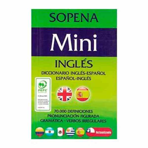 DICCIONARIO MINI INGLES ESPAÑOL SOPENA