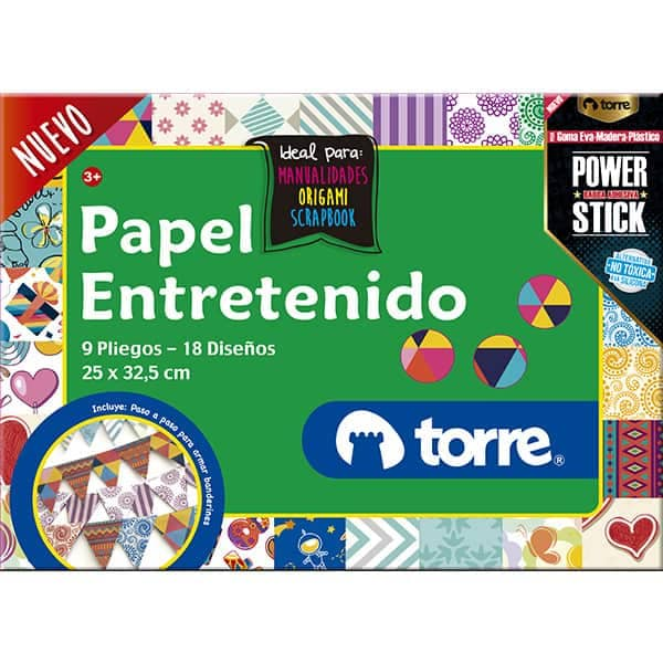 PAPEL ENTRETENIDO PLIEGOS