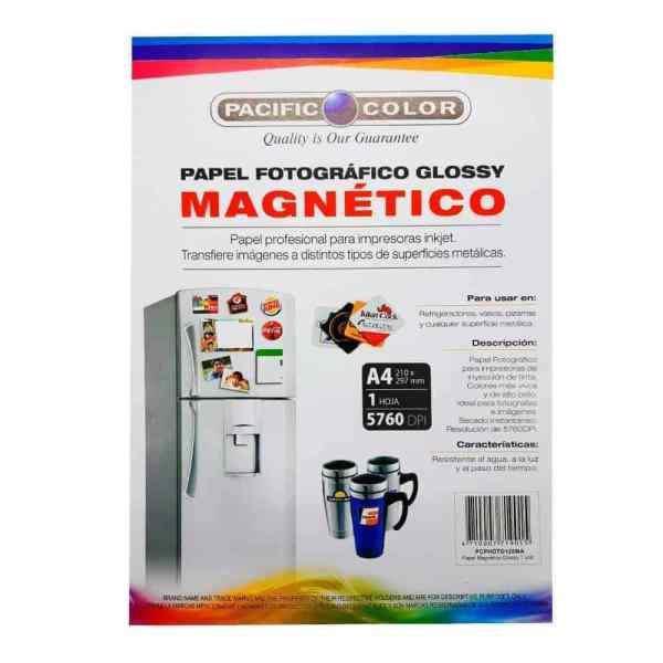 papel fotografico magnetico glossy pacific color