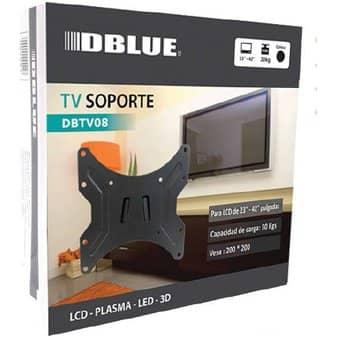 "SOPORTE TV DBLUE 23"" A 42"" SOPORTA 30KG DBTV08"